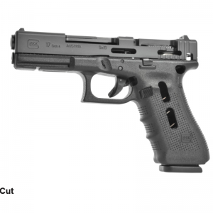 GLOCK 17 Gen4 cutaway models are produced for technical and firearms' training and clearly illustrate the ingeniously simple mechanisms