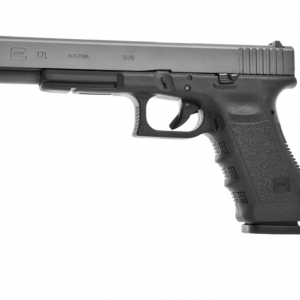 The Buy Glock 17L is an ideal competition pistol with a long barrel, a slotted and accurately balanced slide, long sight radius