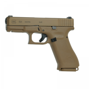"""GLOCK's first ever """"Crossover"""" pistol, the GLOCK 19X, combines the best features of two of its most popular and most trusted field-tested"""