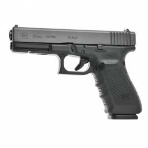 Remarkable for its accuracy and light recoil, the GLOCK 21 Standard delivers the power of the 45 Auto round. Order G21 Gen4 standard online