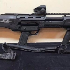 The first of its kind, Standard Manufacturing's DP-12 is a premium self-defense, double-barreled, pump-action, 12-gauge shotgun