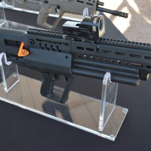 Tavor TS12 For Sale 12 gauge shotgun is a gas regulated bullpup shotgun that can be configured for either side ejection and operation.