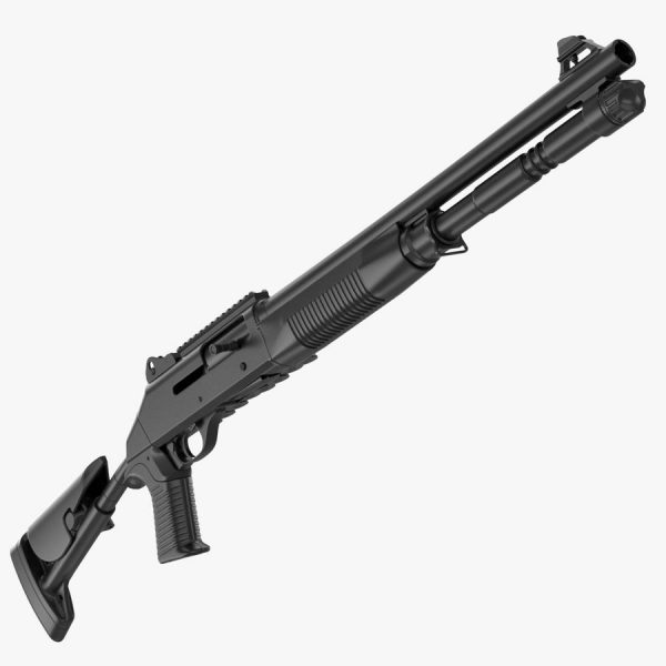 Benelli M3 Tactical Shotgunis uniquely designed for tactical purposes. Shooters have the option of choosing either semi-auto or pump action