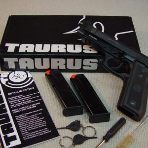 Taurus PT 101 AF for sale large frame pistols feature an ambidextrous three position safety, loaded chamber indicator. Buy firearms online