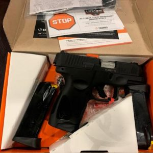 Buy Taurus G3C Compact 9MM Pistol for sale is a single-action pistol that has a 12-round magazine capacity and features an alloy steel slide